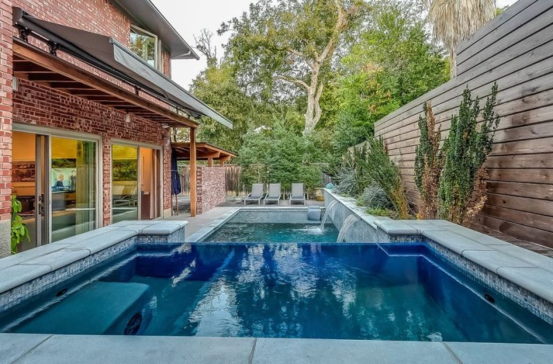 Sleek and Modern Pool Design in Dallas | Dallas Pool Builder